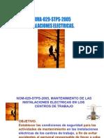 Nom 029 STPS 2005Instalaciones Electric as 1