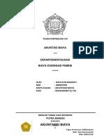 Tugas Pert VIII Departementalisasi Biaya Overhead Pabrik Page3 Sd End