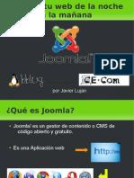 Presentacion JOOMLA