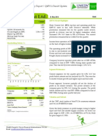 Shree Cement Ltd - Q4FY11_Result Update