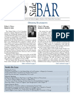 SideBAR • Published by the Federal Litigation Section of the Federal Bar Association (Spring 2011)
