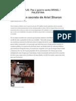 Ariel Sharon Palestina