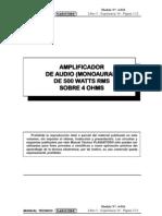 Amplificador 500W