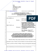 Objection to Def. Orly Taitz's Declaration, Dkt No. 207 Doc 212