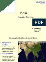 India Country -Emerging Economy
