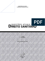 QUESTÕES ATUAIS DE DIREITO SANITÁRIO