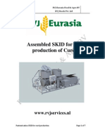 Assembled SKID for Curd Production
