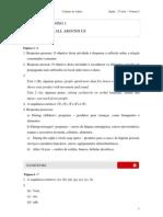 2010 - Volume 2 - Caderno do Aluno - Ensino Médio - 2ª Série - LEM Inglês