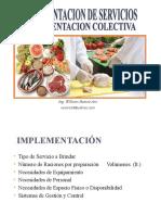 Implementacion de Servicios de Alimentacion