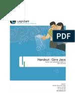 Core Java Handout v1.0