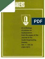 Jaes Loudspeaker Anthology 1