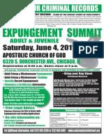2011 Expungement Summit Flyer