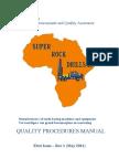Quality Assurance Procedures Manual - Super Rock 2011