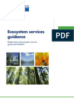 Ecosystem services guidance