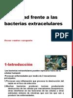 Inmunidad Frente a Las Bacterias Extracelulares