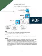 5 3 4 InterVLANRouting Internal External Router