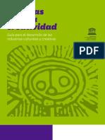 Guía Unesco Industrias Culturales y Creativas
