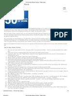 The 50 New Rules of Work _ Robin Sharma's Blog