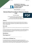 Internet-Based Learning in Malaysia - Islamic Law