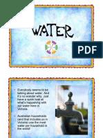 Water Power Point Presentation for Victoria Grades 5 & 6