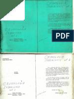 Cronologia Sobralense volume  1- (de 1604 a 1734)-Parte 01/04