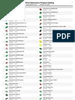 Catalog Modules Sparkfun
