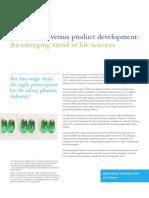 Acquisitions Versus Product Development