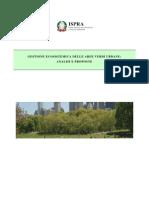 Gestione Ecosistemica Delle Aree Verdi Urbane ISPRA2009