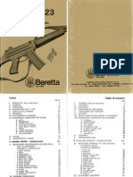 Beretta AR70 Cal 223 Rifle Manual