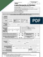 Formula Rio Para Recepcion de Reclamo Ba v2