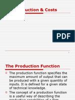 Production Cost - Micro Economics