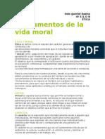 Fundamentos de La Vida Moral