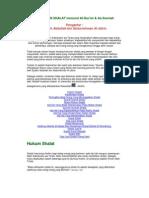 Tuntunan Shalat PDF