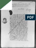 1477_28 de marzo. Pleitos entre vecinos del Olivar y Berninches.