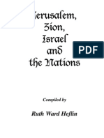 5. Jerusalem, Zion, Israel and the Nations - Ruth Ward Heflin