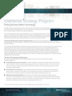 Enterprise Strategy Program Offerings Data Sheet