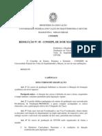 Res. 05 CONSEPE, 20.05.11_Regulamento_dos_cursos_de_graduação