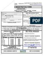 Registration Form - Chippewa S.S.