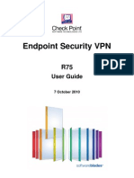 R75 Endpoint Security VPN User Guide
