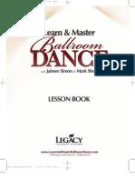 Dance Lesson Book