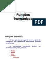 funçoes inorganicas - acidos