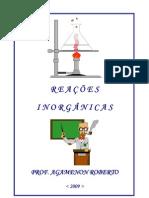 reaçoes inorganicas