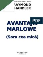 Raymond Chandler - Avantaj... Marlowe