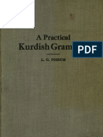 A Practical Kurdish Grammar 1919