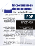 Interview with Dr. Rashid Al Leem, Director-General, Hamriyah Free Zone