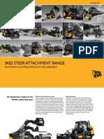 JCB Skid Steer Attachment Range (US) Mar 2011
