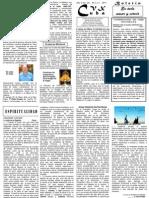 Boletín No. 25 CVX Cuba de Mayo 2011