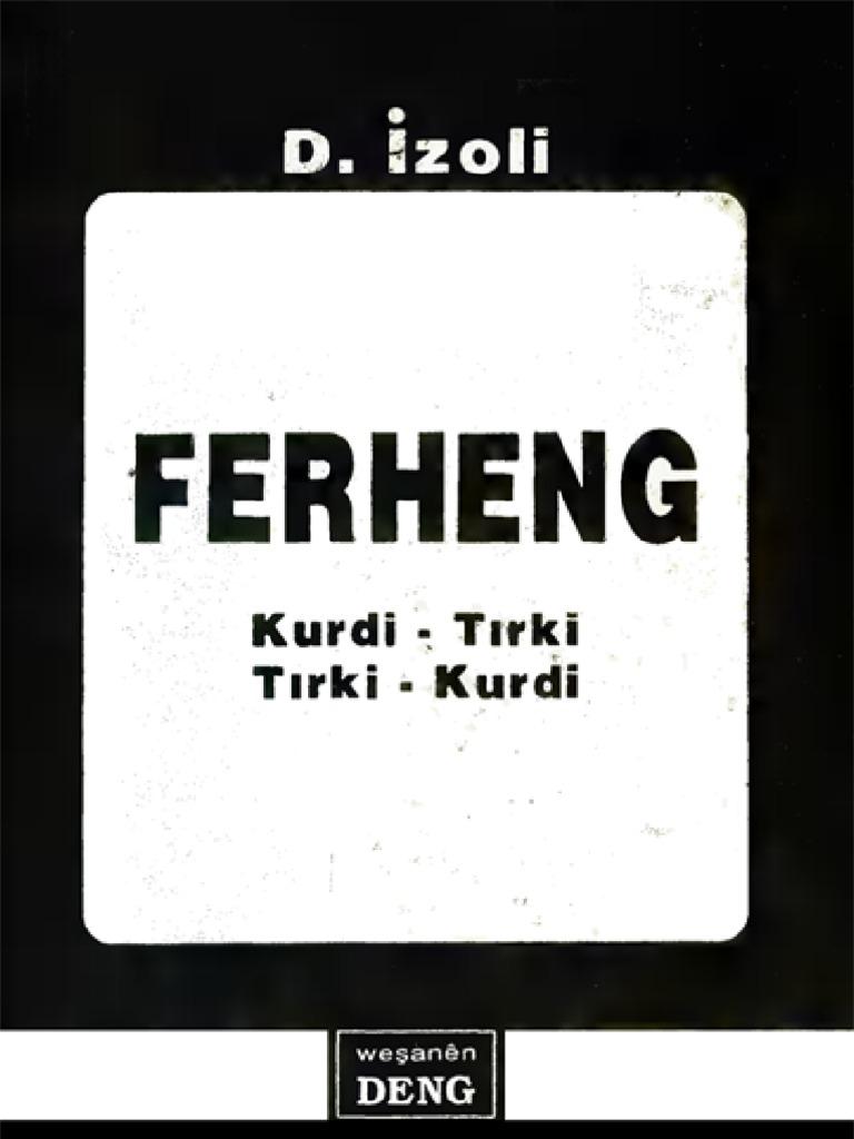 e9ec05d6d71d4 Ferheng Kurdi Tirki Tirki Kurdi