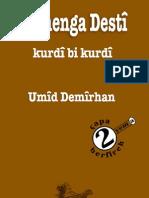 Ferhenga Desti a Kurdish Kurdish Dictionary by Umid Demirhan