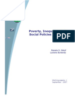 Poverty, Inequality And